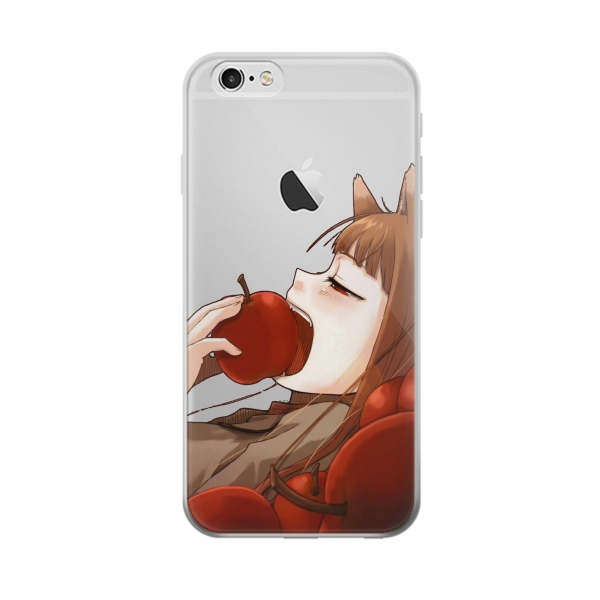 Clear Spice and Wolf Horo Iphone 6 Transparent Case