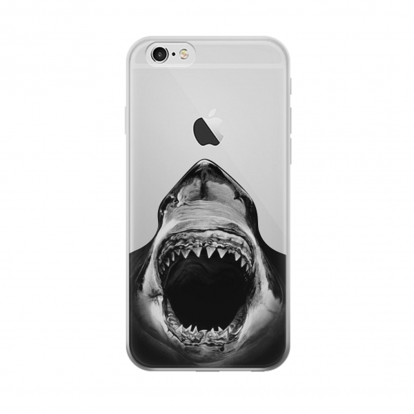 Clear Great White Shark Iphone 5 Transparent Case