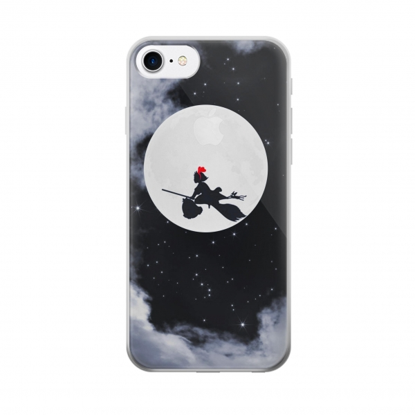 Clear Kiki Delivery Service Little Witch Kiki Moon Iphone 7 Transparent Case