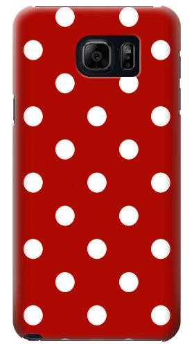 Printed Red Polka Dots Samsung Galaxy S6 edge plus Case
