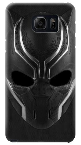 Printed Black Panther Mask Samsung Galaxy S6 edge plus Case
