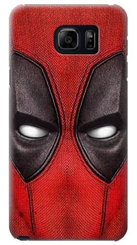 Printed Deadpool Mask Samsung Galaxy S6 edge plus Case
