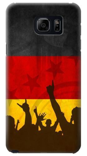 Printed Germany Football Flag Samsung Galaxy S6 edge plus Case