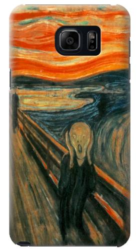 Printed Edvard Munch Scream Original Painting Samsung Galaxy S6 edge plus Case
