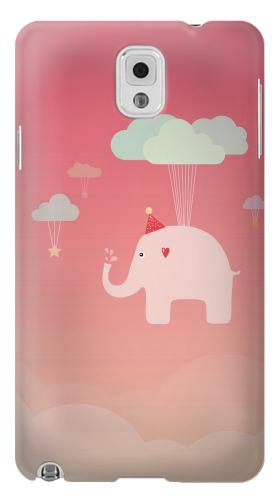 Printed Cute Elephant Samsung Note 3 Case