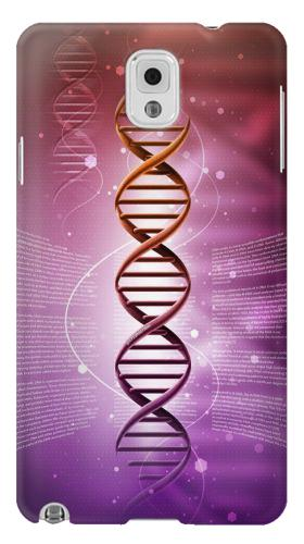 Printed Dna Genetic Code Samsung Note 3 Case