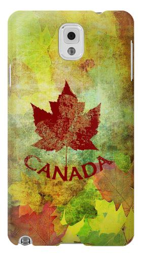 Printed Canada Autumn Maple Leaf Samsung Note 3 Case