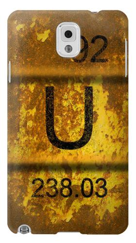 Printed Old Rusty Urenium Waste Barrel Samsung Note 3 Case
