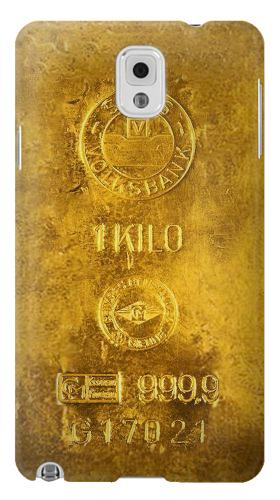 Printed One Kilo Gold Bar Samsung Note 3 Case