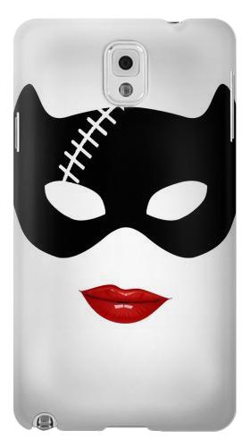 Printed Catwomen Mask Samsung Note 3 Case
