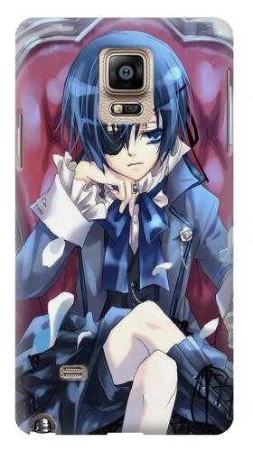 Printed Black Butler Ciel Samsung Note 4 Case