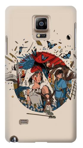 Printed Princess Mononoke Samsung Note 4 Case