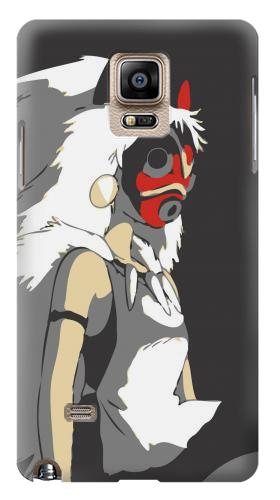 Printed The Spirit Princess Mononoke Hime Samsung Note 4 Case