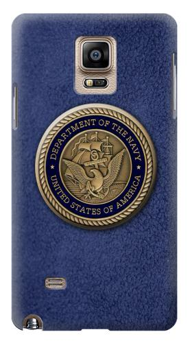 Printed US Navy Samsung Note 4 Case