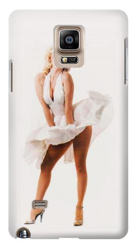 Printed Marilyn Monroe Dress Blowing Samsung Note 4 Case