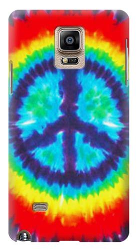 Printed Tie Dye Peace Samsung Note 4 Case