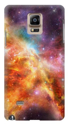 Printed Nebula Rainbow Space Samsung Note 4 Case