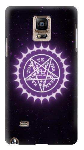 Printed Black Butler Pentagram Samsung Note 4 Case