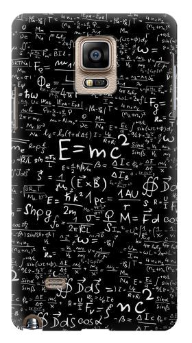 Printed Mathematics Physics Blackboard Equation Samsung Note 4 Case