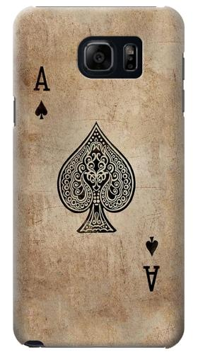 Printed Vintage Spades Ace Card Samsung Note 5 Case