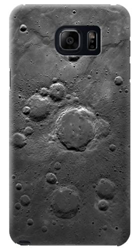 Printed Moon Surface Samsung Note 5 Case