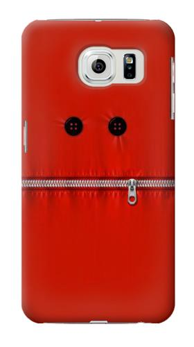 Printed Red Zipped Mount Funny Graphic Printed Samsung Galaxy S6 Case