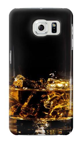 Printed Ice Whiskey Glass Samsung Galaxy S6 Case