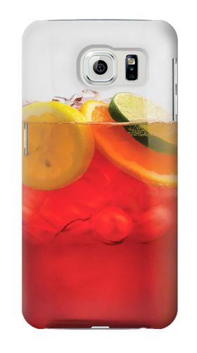 Printed Punch Cocktail Drink Fruit Glass Samsung Galaxy S6 Case