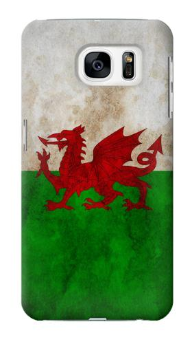 Printed Wales Red Dragon Flag Samsung Galaxy S7 Case