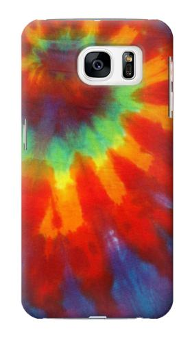 Printed Colorful Tie Dye Fabric Texture Samsung Galaxy S7 Case