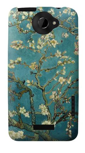 Printed Blossoming Almond Tree Van Gogh HTC One X Case