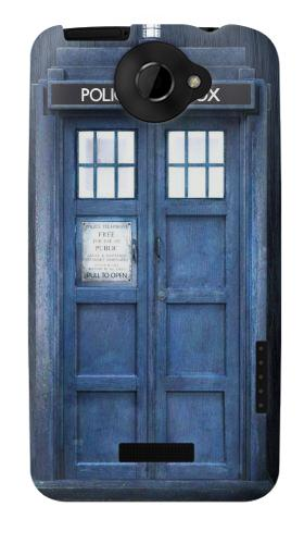 Printed Doctor Who Tardis HTC One X Case