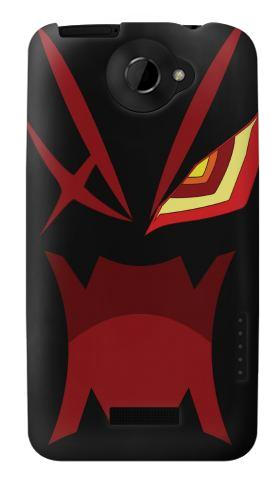 Printed Kill la Kill Kamui Minimalist HTC One X Case