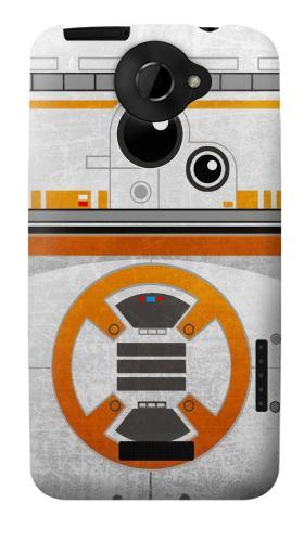 Printed BB-8 Rolling Droid Minimalist HTC One X Case