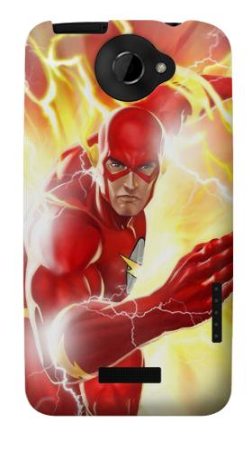 Printed Thunder Flash Superhero HTC One X Case