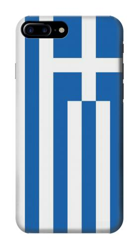 Printed Flag of Greece Iphone 7 plus Case