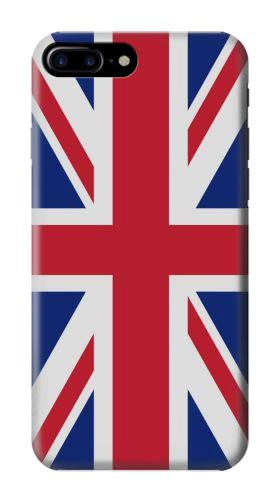 Printed Flag of The United Kingdom Iphone 7 plus Case