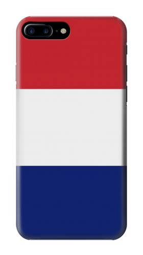 Printed Flag of France and the Netherlands Iphone 7 plus Case