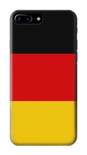 Printed Flag of Germany Iphone 7 plus Case