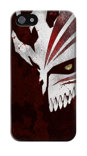 Printed Bleach Anime Hollow Mask Iphone 4 Case