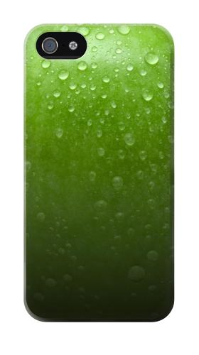 Printed Green Apple Texture Seamless Iphone 4 Case