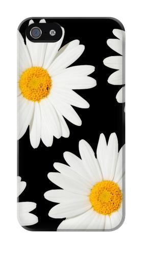Printed Daisy flower Iphone 4 Case