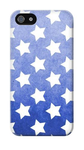 Printed Star Pattern Iphone 4 Case
