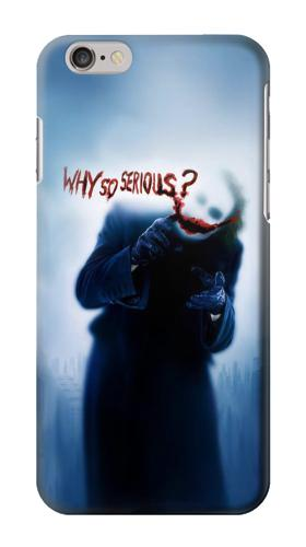 Printed Batman Joker Why So Serious Iphone 6 Case
