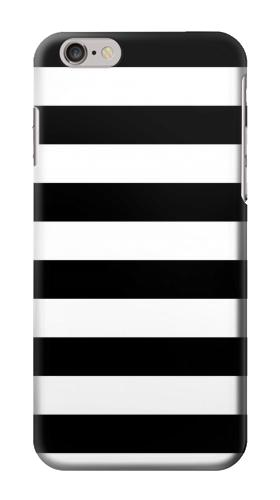 Printed Black and White Striped Iphone 6 Case