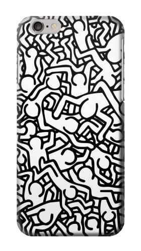 Printed Keith Haring Art Iphone 6 Case
