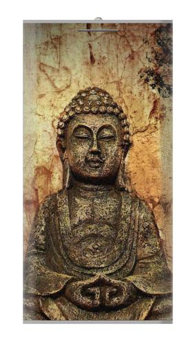 Printed Buddha Rock Carving Power Bank 12000mAh Case