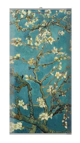 Blossoming Almond Tree Van Gogh แบตเตอรี่สำรอง