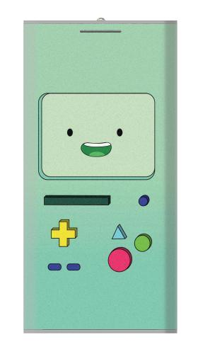 Printed Adventure Time Bibo Power Bank 12000mAh Case