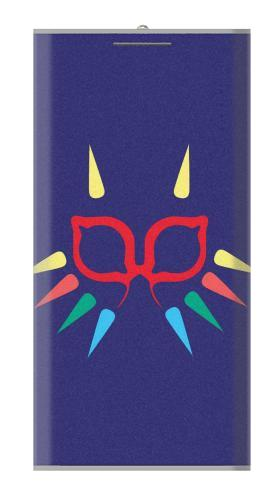 Printed Majora Mask Minimalist Zelda Power Bank 12000mAh Case